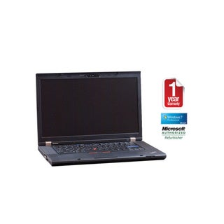 Lenovo ThinkPad T510 Intel Core i5 2.4GHz 4GB 320GB 15.6in Wi-Fi DVDRW CAM Windows 7 Pro (64-bit) LT (Refurbished)