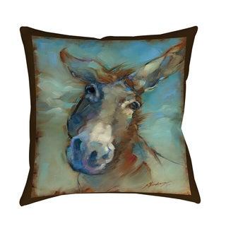 Thumbprintz Donk-o-lena Indoor/ Outdoor Throw Pillow