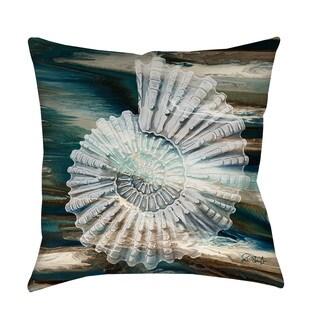 Thumbprintz Coastal Span III Indoor/ Outdoor Throw Pillow
