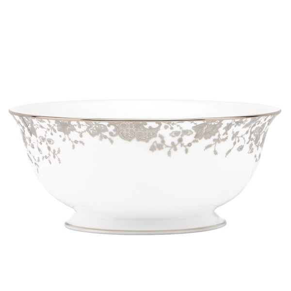 Lenox Marchesa French Lace Serving Bowl