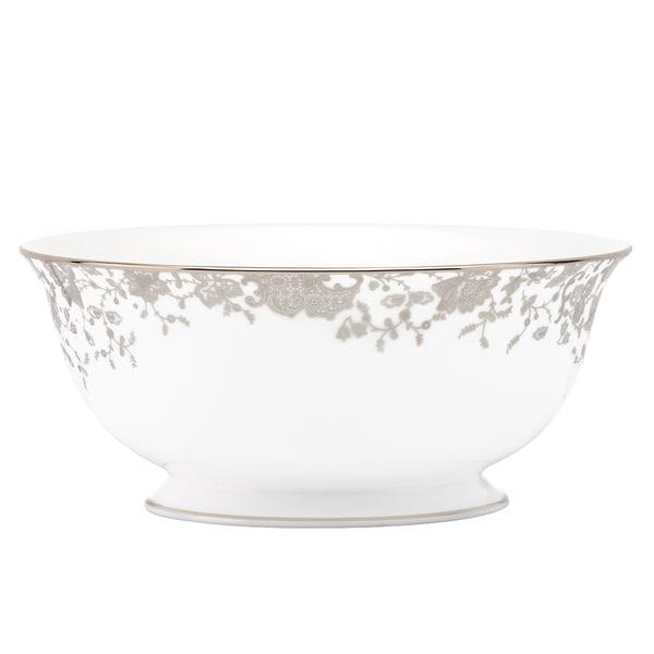 Lenox Marchesa French Lace Serving Bowl
