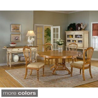 Wilshire Cottage Style 5-piece Round Dining Set
