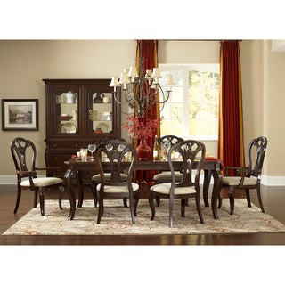 Grandover Dark Cherry 7-piece Dining Set with Large Extension Table