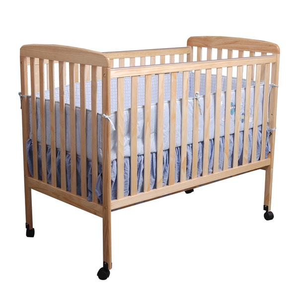Natural Wood Baby Crib