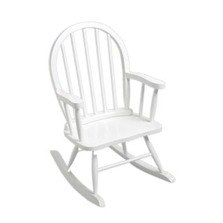 Gift Mark Windsor Home Children's White Rocking Chair