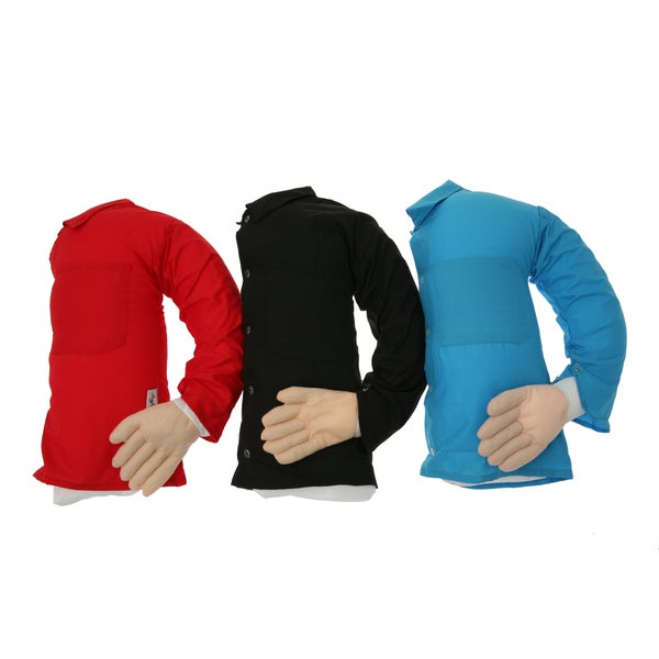 Boyfriend Body Pillow Companion with Mooshi Micro Beads and Soft T-Shirt
