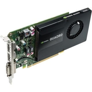 PNY Quadro K2200 Graphic Card - 4 GB GDDR5 SDRAM - PCI Express 2.0 x1