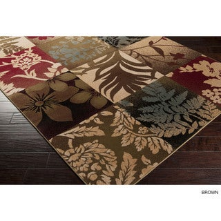 Meticulously Woven Roswell Patchwork Polypropylene Runner (2' x 7'5)