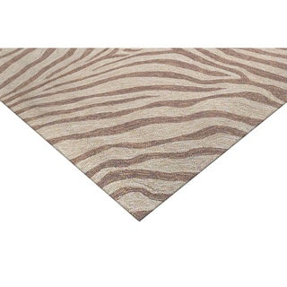 Skin Brown Outdoor Rug (8' Square)