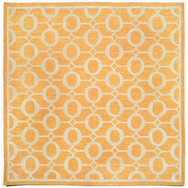 Grace Orange Outdoor Rug (8' Square)