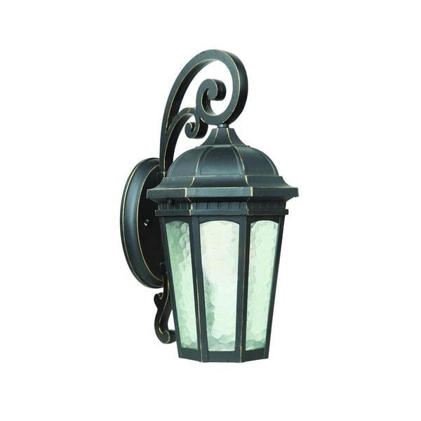 Single Light GU24 Fluorescent Outdoor Wall Sconce