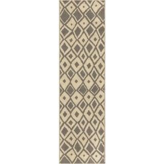 Sherwood Dolores Grey Rug (2'3 x 8')