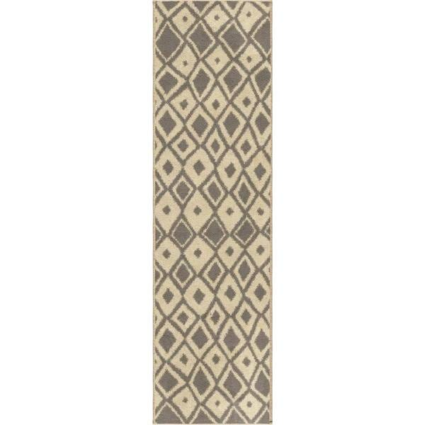 Sherwood Dolores Grey Rug (2'3 x 8')