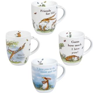 Konitz Guess How Much I Love You Collection Assorted Mugs (Set of 4)