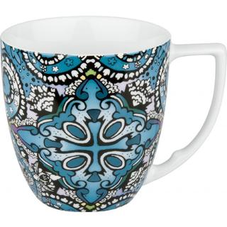 Waechtersbach Accents Urbana Paisley Azur Mugs (Set of 4)