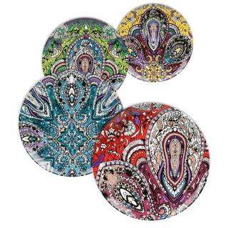 Waechtersbach Accents Urbana Paisley Assorted Plates (Set of 4)