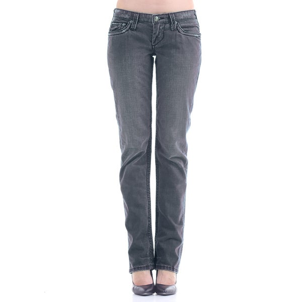 Stitch's Women's Blue Label Straight Leg Denim Jeans