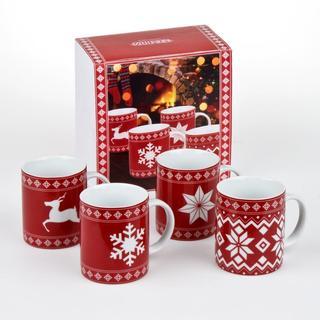 Konitz Christmas Time Mugs (Set of 4)