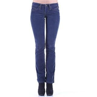 Stitch's Women's Blue Straight Leg Jegging Jeans