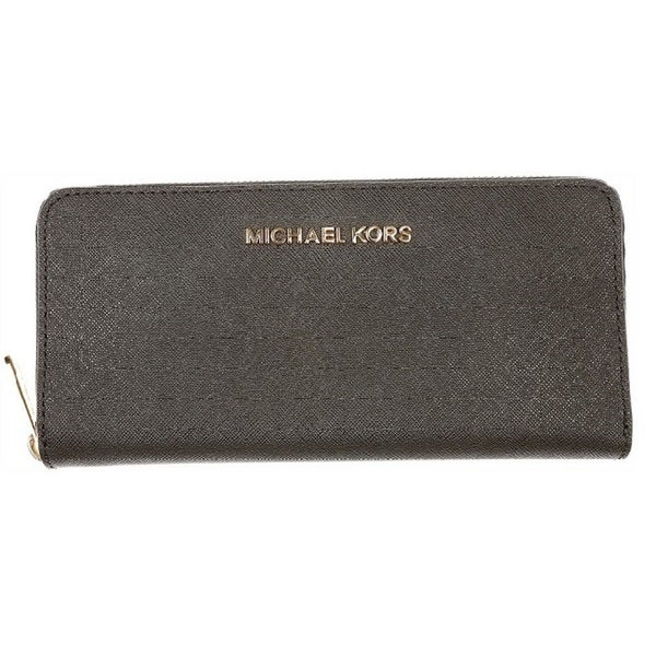MICHAEL Michael Kors Womens Jet Set Zip Around Continental Wallet