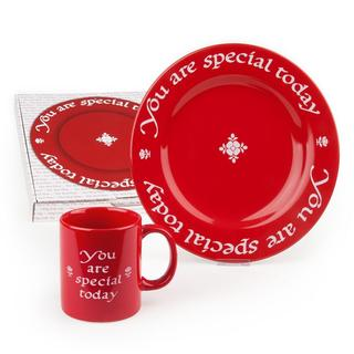 Waechtersbach You Are Special Today Plate and Mug Set