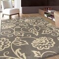 Sherwood Rio Blanco Grey Rug (5'3 x 7'6)