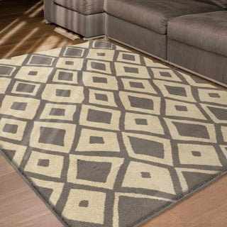 Sherwood Dolores Grey Rug (5'3 x 7'6)