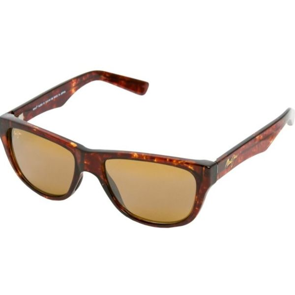 Maui Jim Unisex 'Maui Cat III' Tortoise Full-frame Polarized Sunglasses