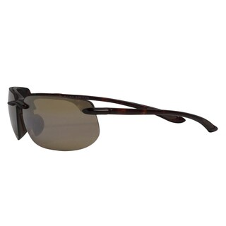 Maui Jim Unisex 'Banyans' Tortoise Polarized Sport Sunglasses