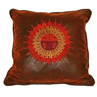 Croscill Plateau Sundial Stitched Square Throw Pillow