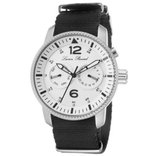 Lucien Piccard Men's Expeditor LP-13017-02 Chronograph Black Nylon Watch