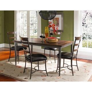 Cameron 5-piece Ladderback Chair Wood Dining Set
