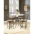 Brookside 5-piece Counter Height Dining Table Set with Marin Stools