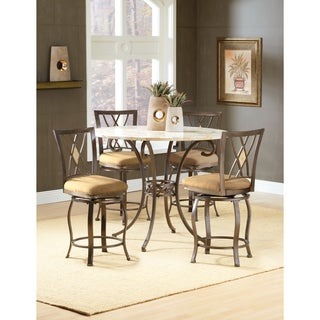 Brookside Counter Height 5-piece Dining Set with Stools