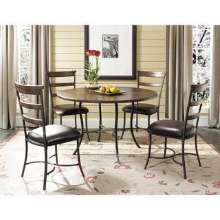 Cameron 5-piece Round Table with Ladderback Chairs Set