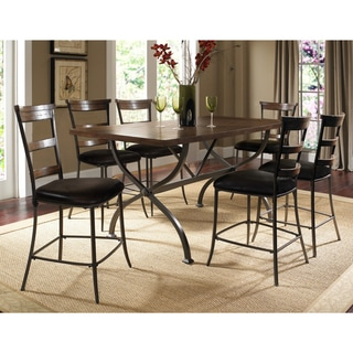Cameron 7-piece Counter Height Dining Set with Ladderback Chairs