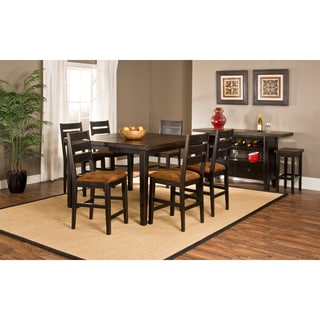 Killarney 7-piece Counter Height Dining with Ladder Back Stools