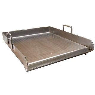 Heavy Duty Stainless Steel Single Burner 18 x 16 Flat Top Griddle