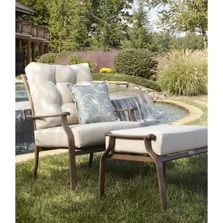 Panama Jack Island Breeze Deep Seating Lounge chair with Ottoman