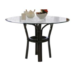 Panama Jack Sanibel Mahogany Stackable Dining Base with Glass