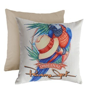 Panama Jack 'Panama Parrot' Square Throw Pillow (Set of 2)
