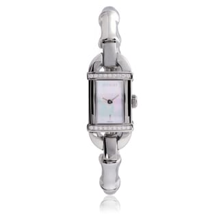 Gucci Women's YA068566 Stainless Steel 3/8ct TDW Watch (G-H, l1-l2)
