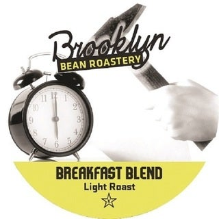 Brooklyn Bean 'Breakfast Blend' Single Serve Coffee K-cups