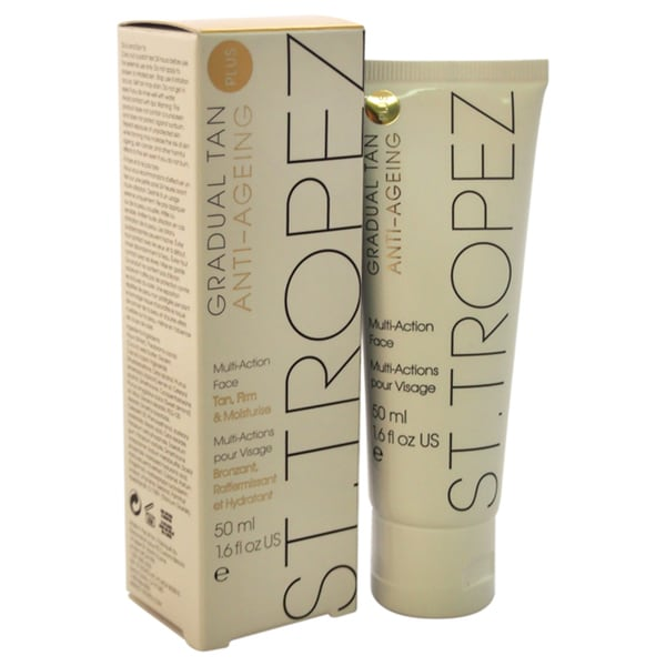 St. Tropez Gradual Tan Plus Anti-Ageing Multi-Action 1.69-ounce Face Cream