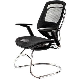 AtTheOffice ONE Series Black Mesh Guest Chair