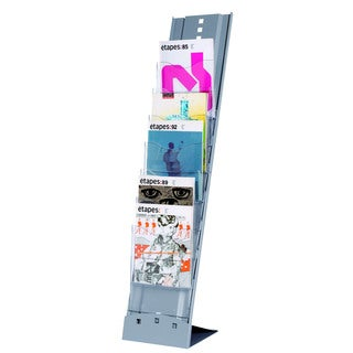 Paperflow Portable Seven-compartment Floor Literature Display
