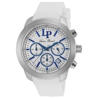 Lucien Piccard Women's Belle LP-12938-23S White Chronograph Silicone Watch