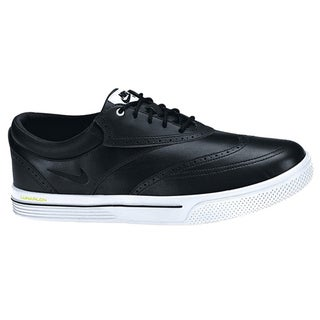 Nike Men's Lunar Swingtip Leather Black/White/Volt Golf Shoes