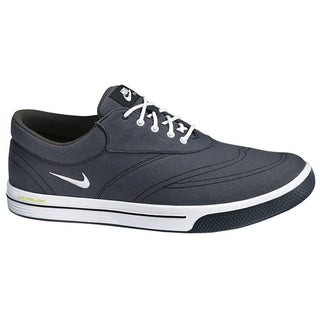 Nike Men's Lunar Swingtip Canvas Anthracite/Black/Volt/White Golf Shoes