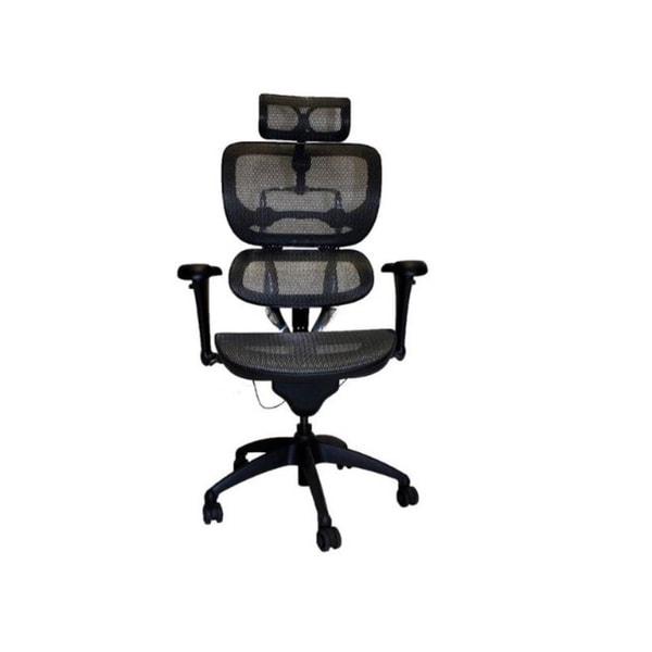 Like Ergohuman Black/ Dark Grey Hi Swivel Mesh Executive Chair